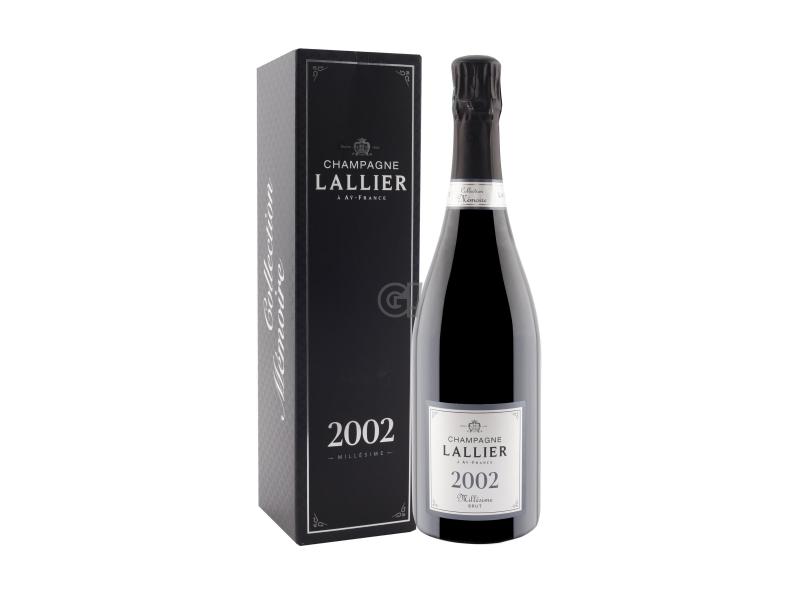 Lallier Champagne Collection Mémorie Millésime Vintage 2002